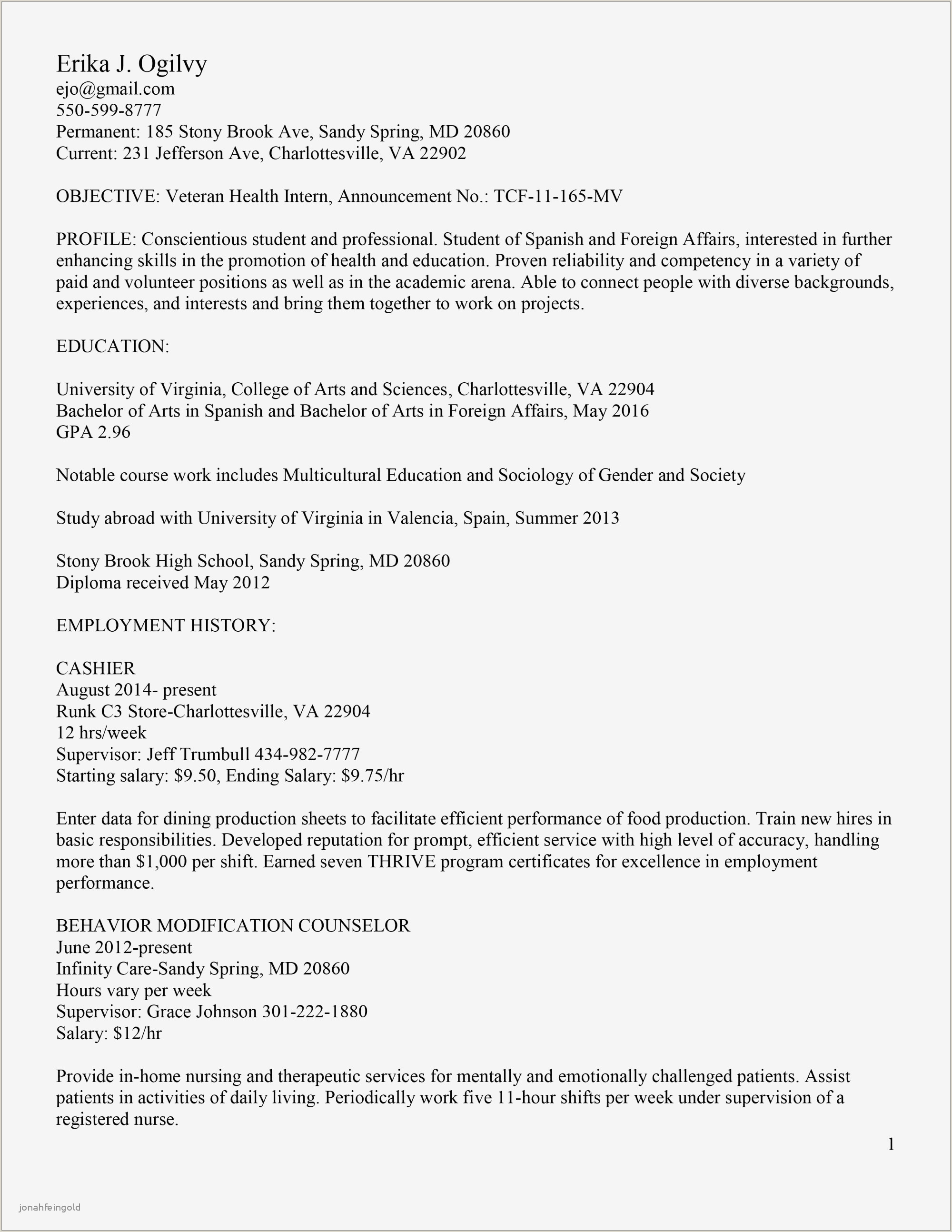 Professional Cv format Sample .doc Best Simple Resumec – Kursknews