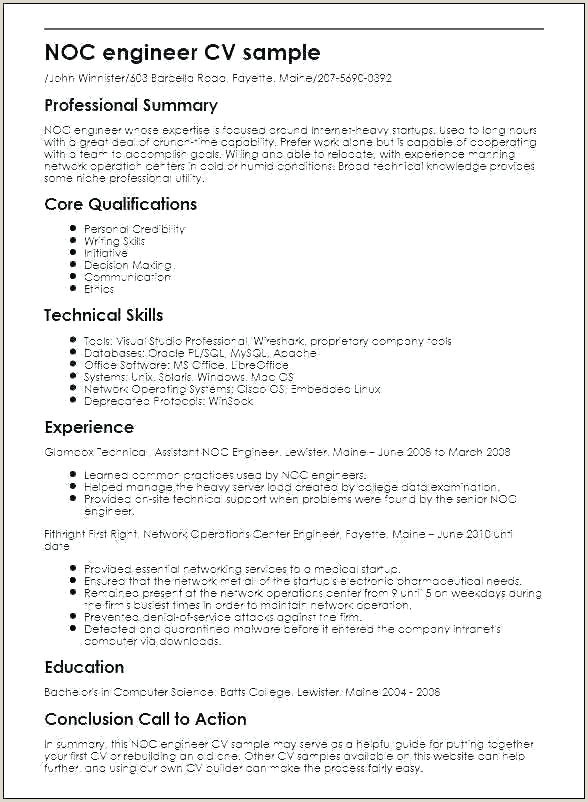 Professional Cv format software Engineer software Cv Template