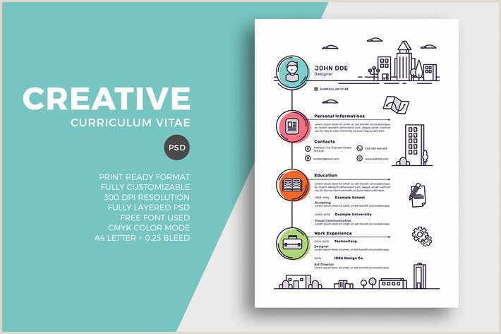 Creative Resume & CV Template by EightonesixStudios on