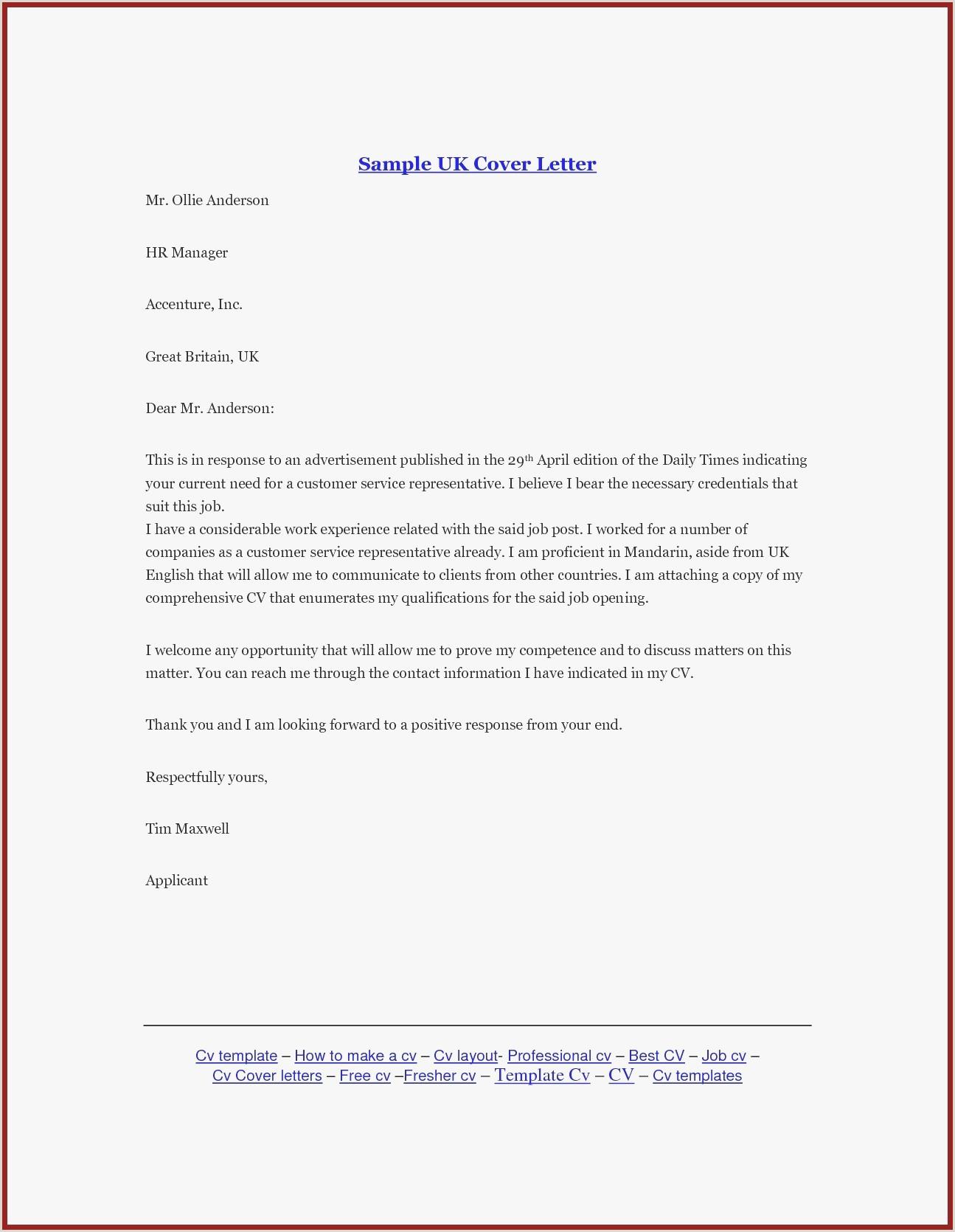 Unique Employment Cover Letter Templates