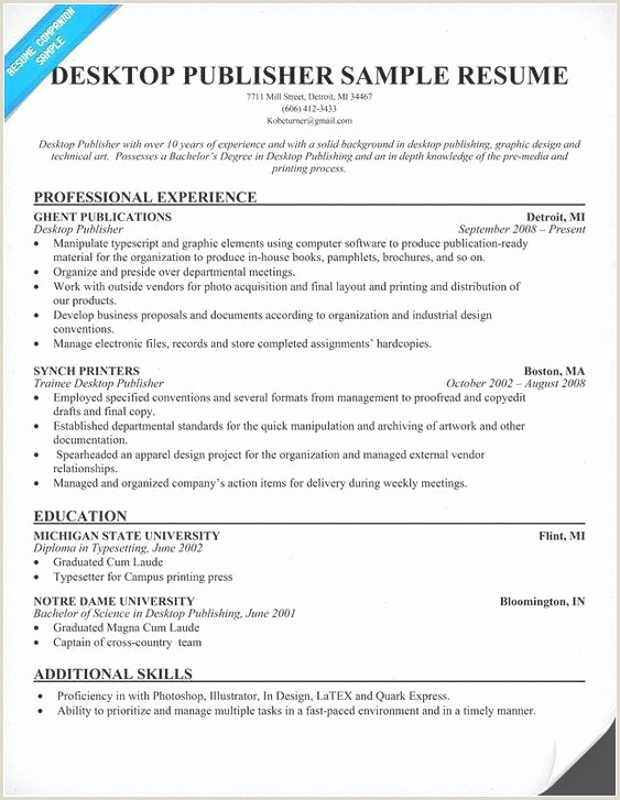 Professional Cv format Writing 59 How to Write A Resume Examples