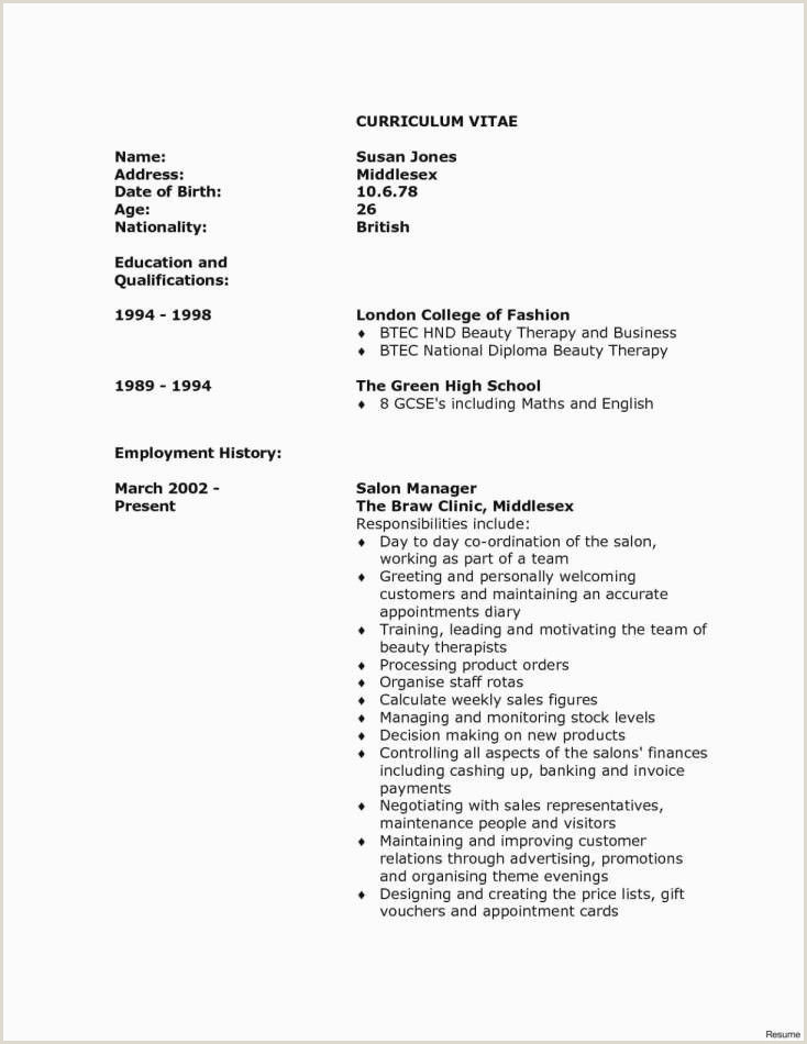 How to plete A Cover Letter for A Resume Awesome Example