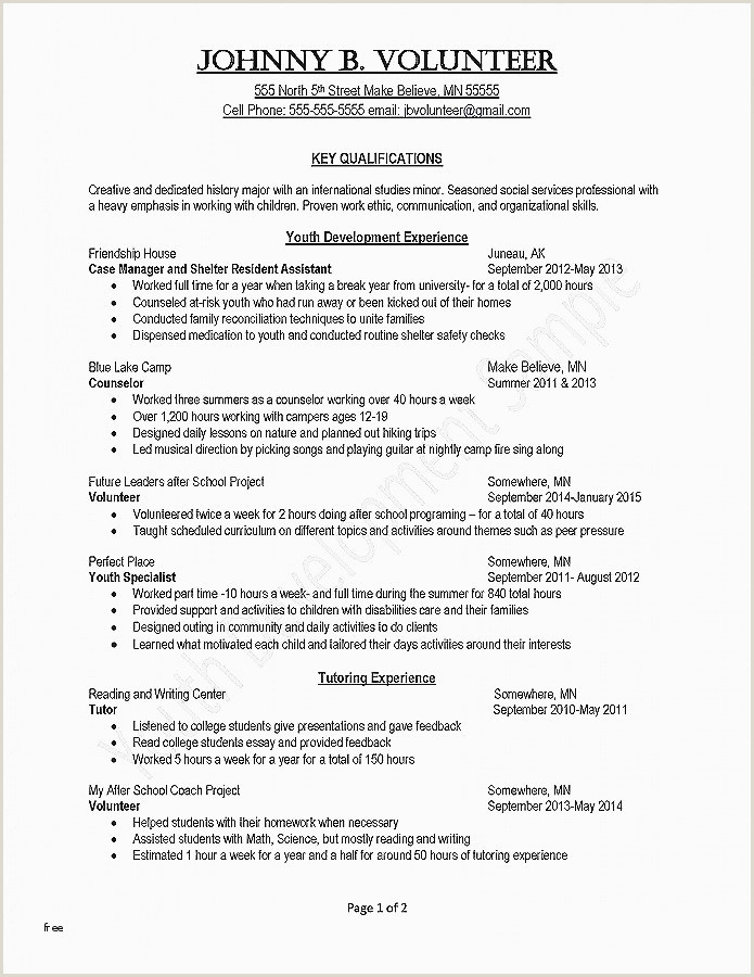 Resume Skill Examples New Entry Level Customer Service
