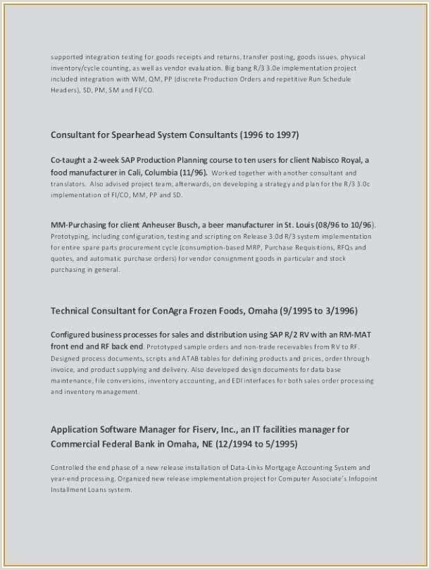 72 Unique s Resume Examples for Facilities