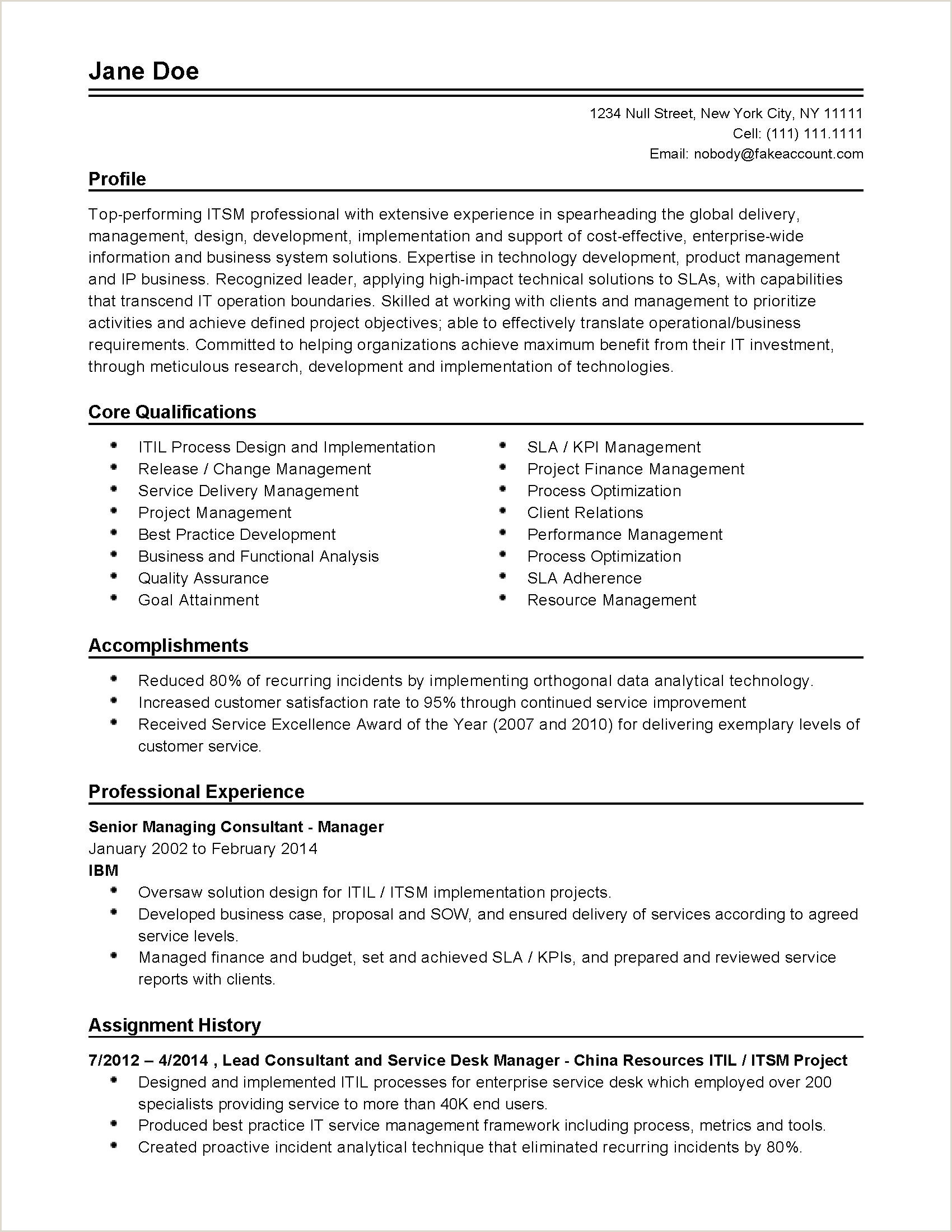 Hr Letter Template Examples