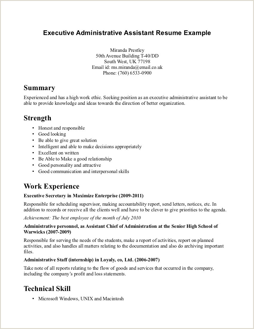 10 resume example for receptionist position