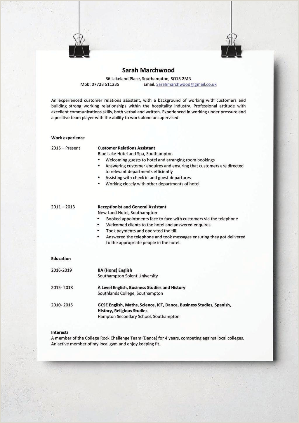 CV & Application Guide PDF