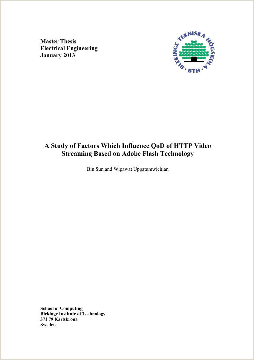 Professional Resume (cv) According to the Us format Pdf A Study Of Factors which Influence Qod Of Http Video