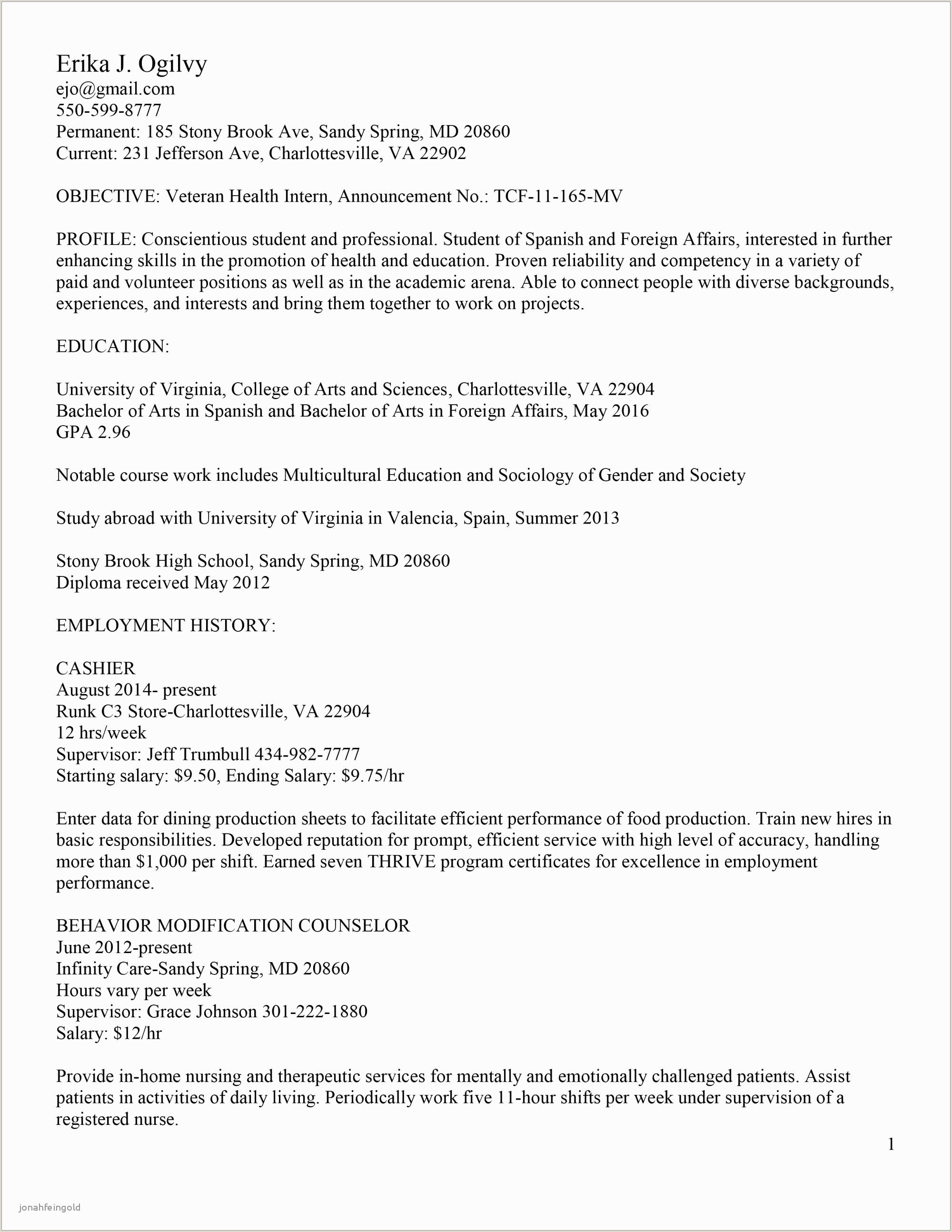 Cv En Espanol Nouveau Spanish Resume Template Resume Sample