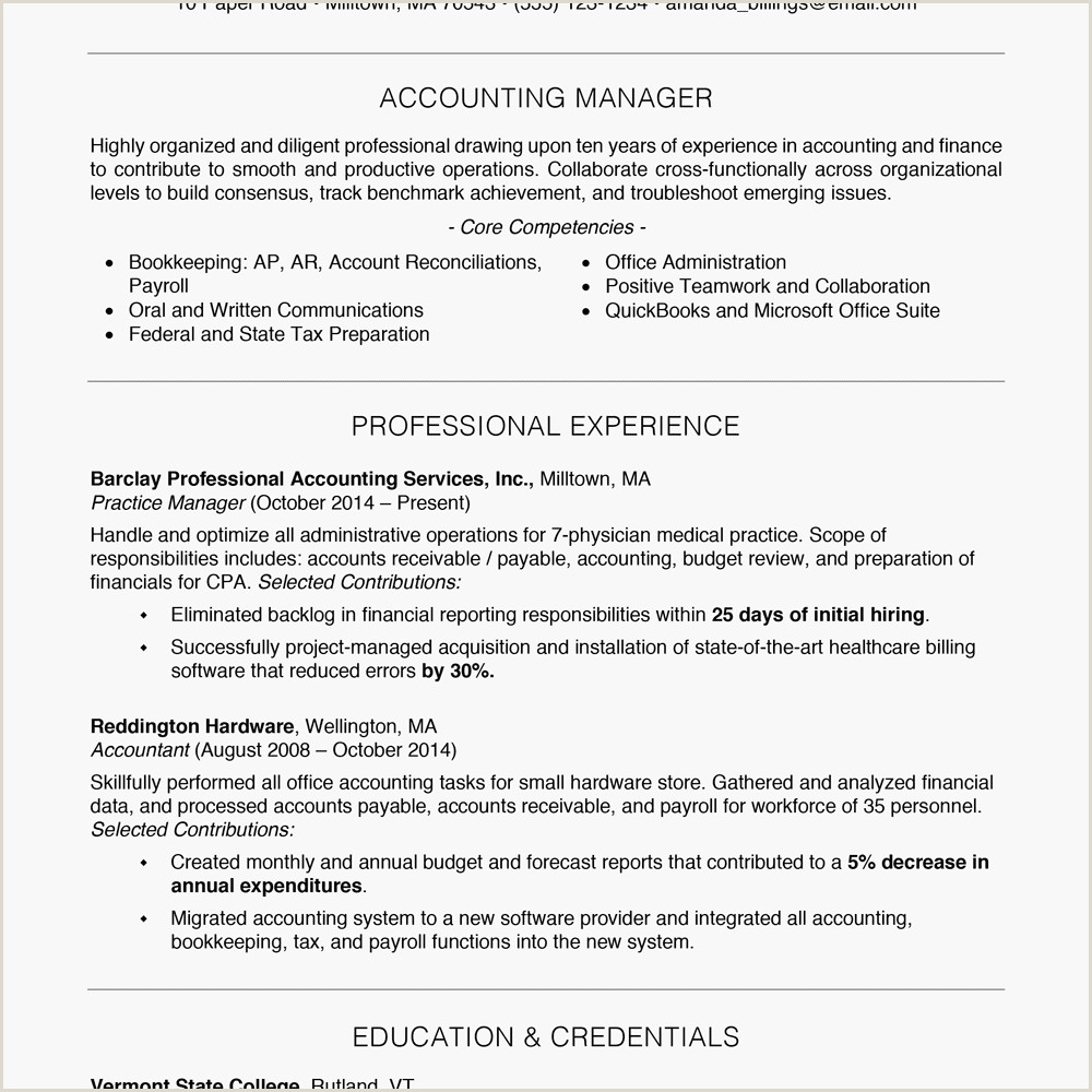 Professional Resume format Doc File Free Professional Resume Examples and Writing Tips