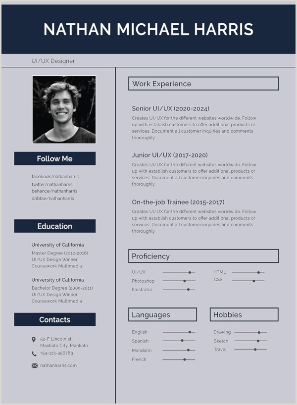 Professional Resume format for Freshers Doc 47 Best Resume formats Pdf Doc