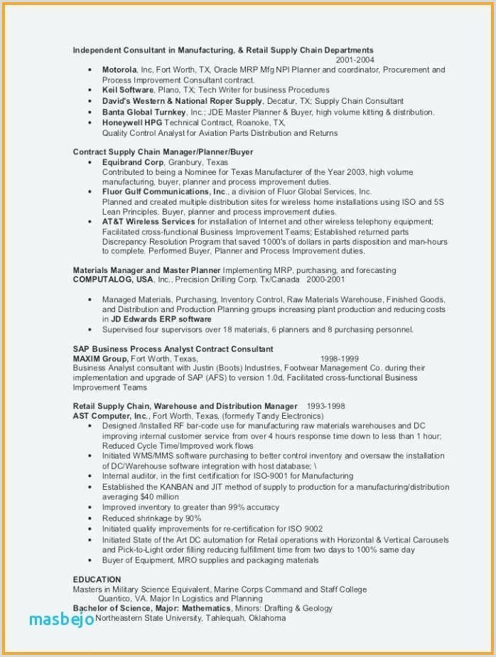 Sample Resume Templates New Application Resume Sample Sample