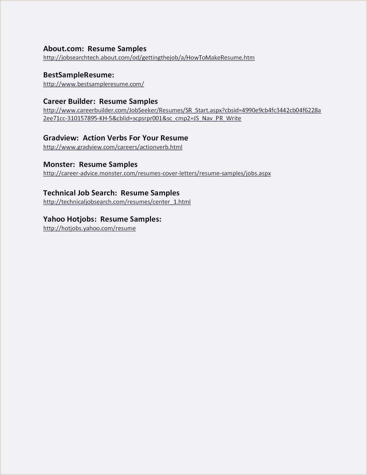 Exemple De Cv Une Page Inspiré Cv Resume Sample Doc Valid
