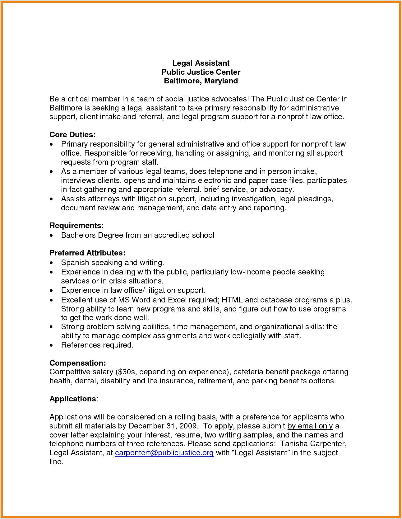 23 Cover Letter For Administrative Assistant Cover Letter