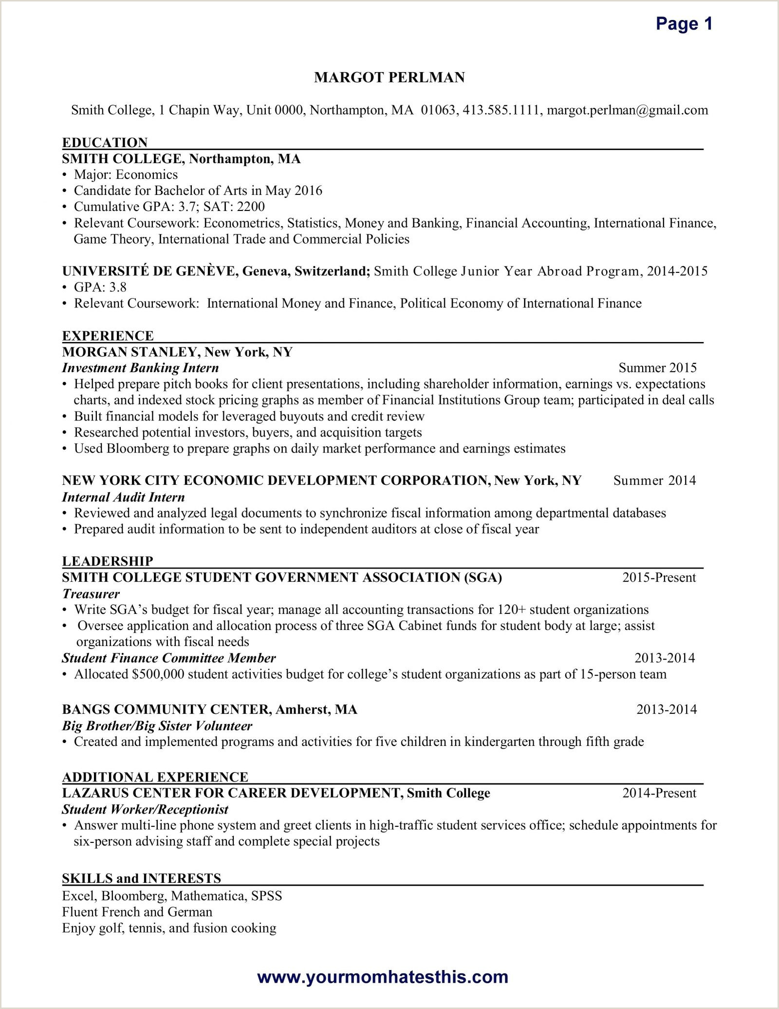 Banking Cover Letter Sample Legal Unique Resume Advice 0d