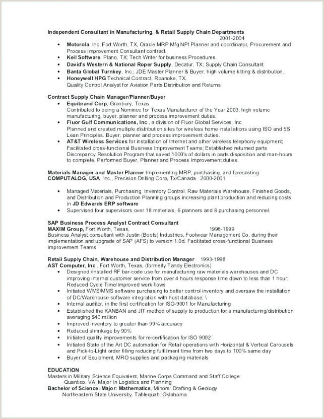 Program Manager Cover Letter Resume for Job Fair