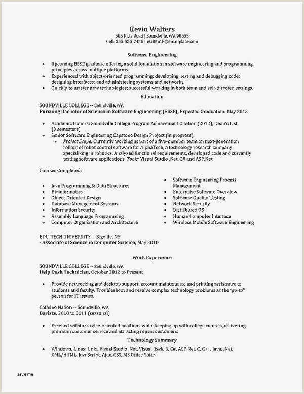 Programmer Resume Example College Courses Luxury Rn Resume Sample Unique Writing A