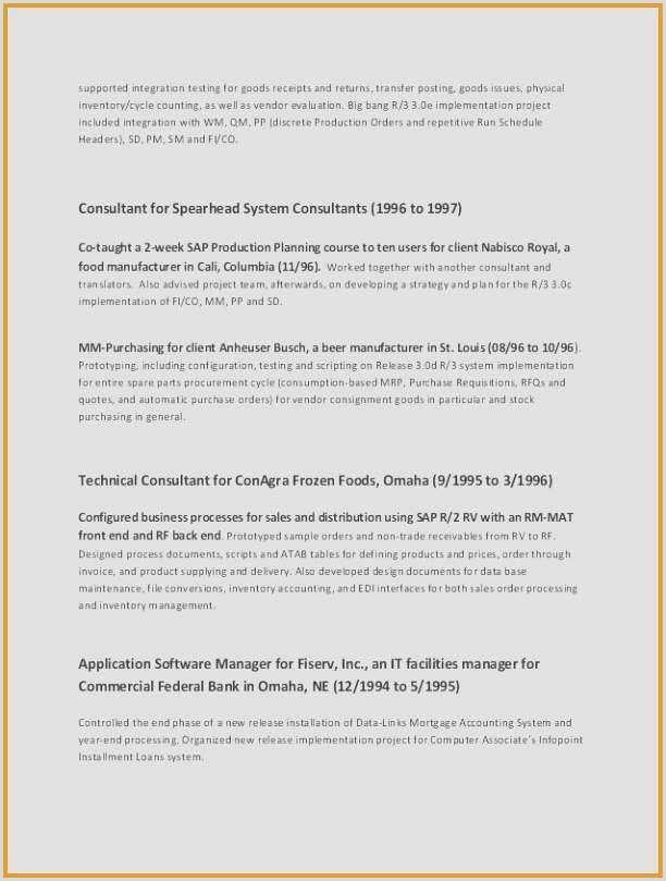 Programmer Resume Template Sample software Developer Resume Free 26 Best software