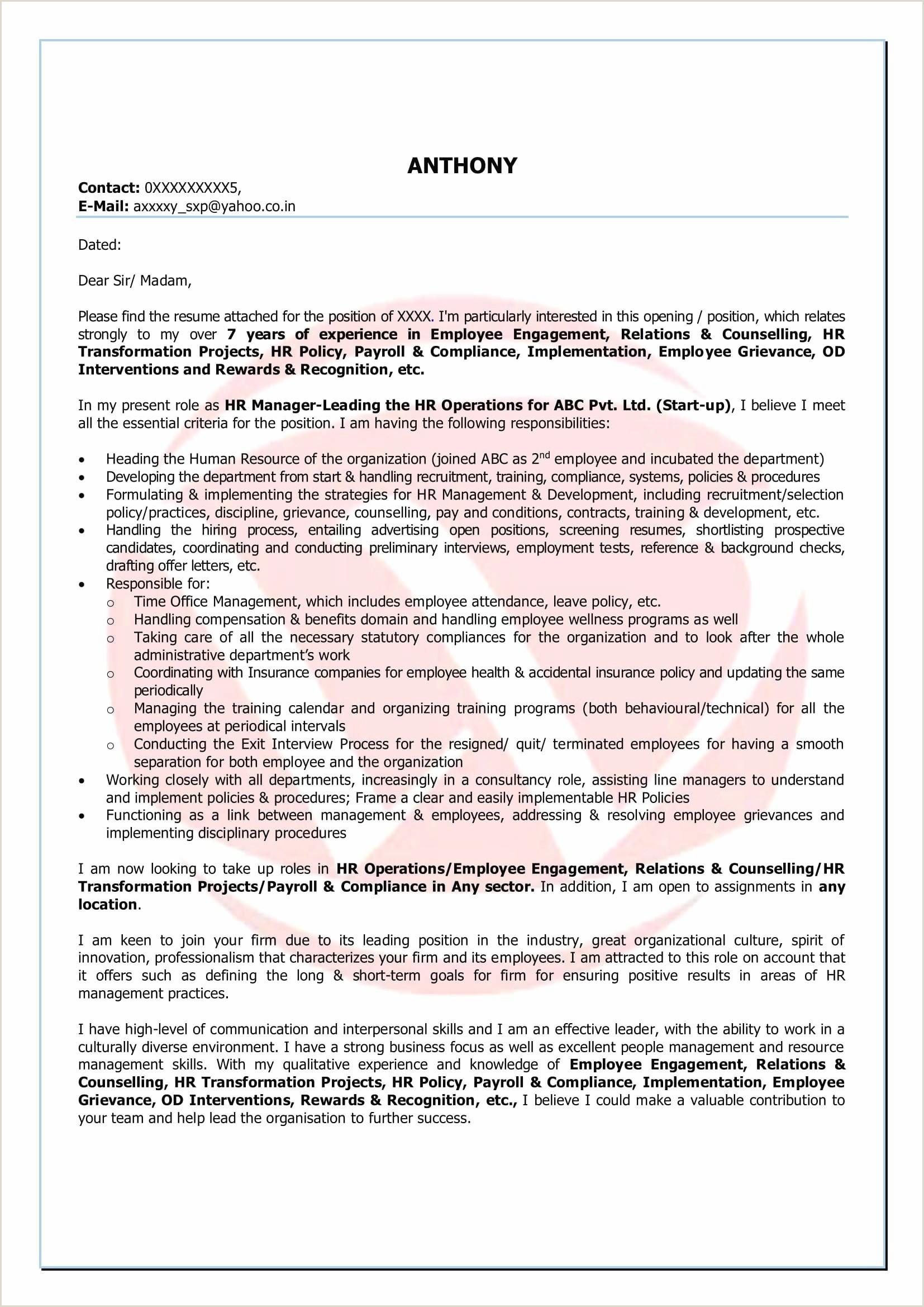 Nursing Resume format Examples 46 Standard Registered Nurse