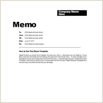 Project Management Memo Example Business Memo Templates 40 Memo format Samples In Word