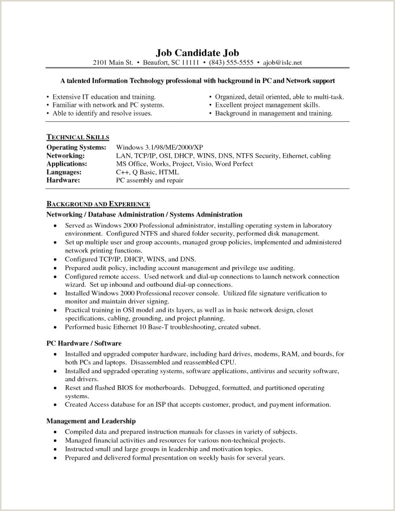 Project Management Sample Resume Network Administrator Resume Samples Sample Network