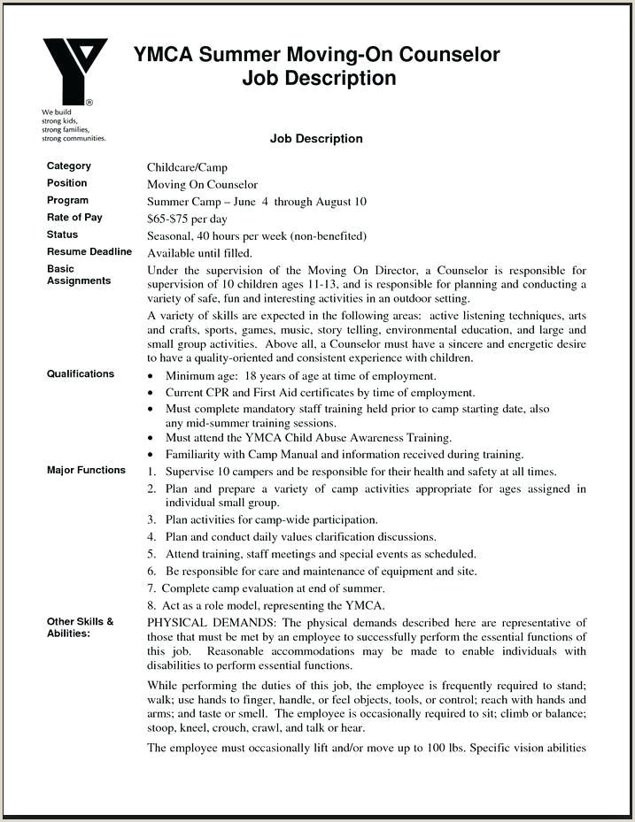 Counselor Resume – School Counselor