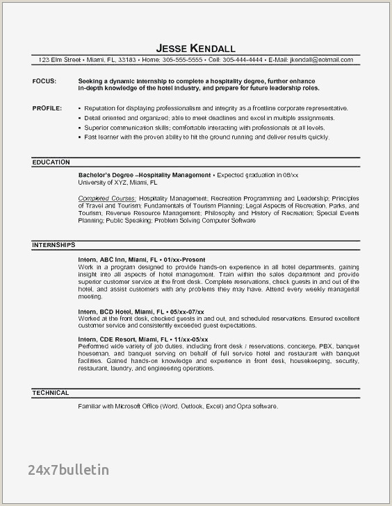 25 New Housekeeping Resume Objective