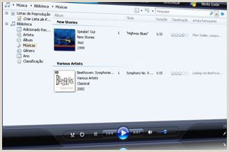 Windows Media Player 11 Download para Windows em Portuguªs