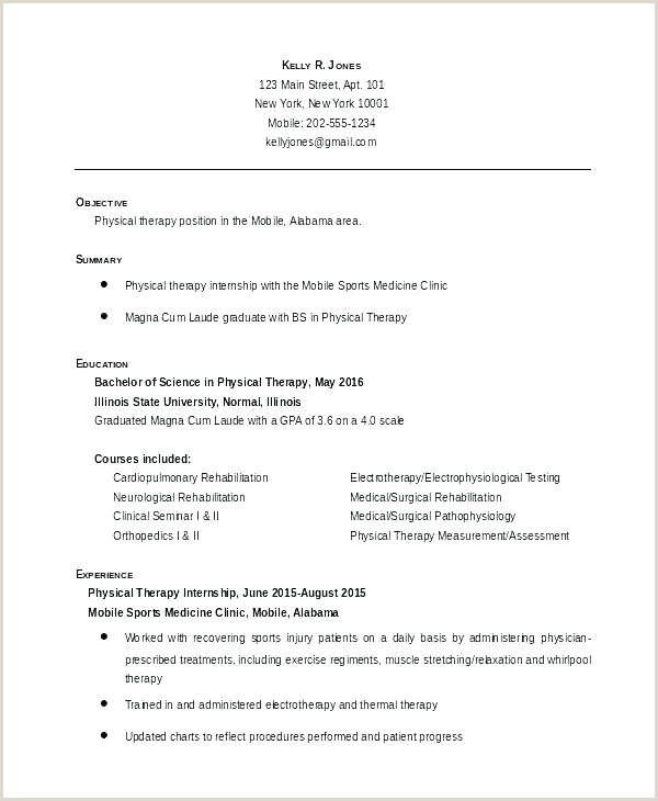 Radiation therapist Resume Physical therapist Resume Sample – Blaisewashere