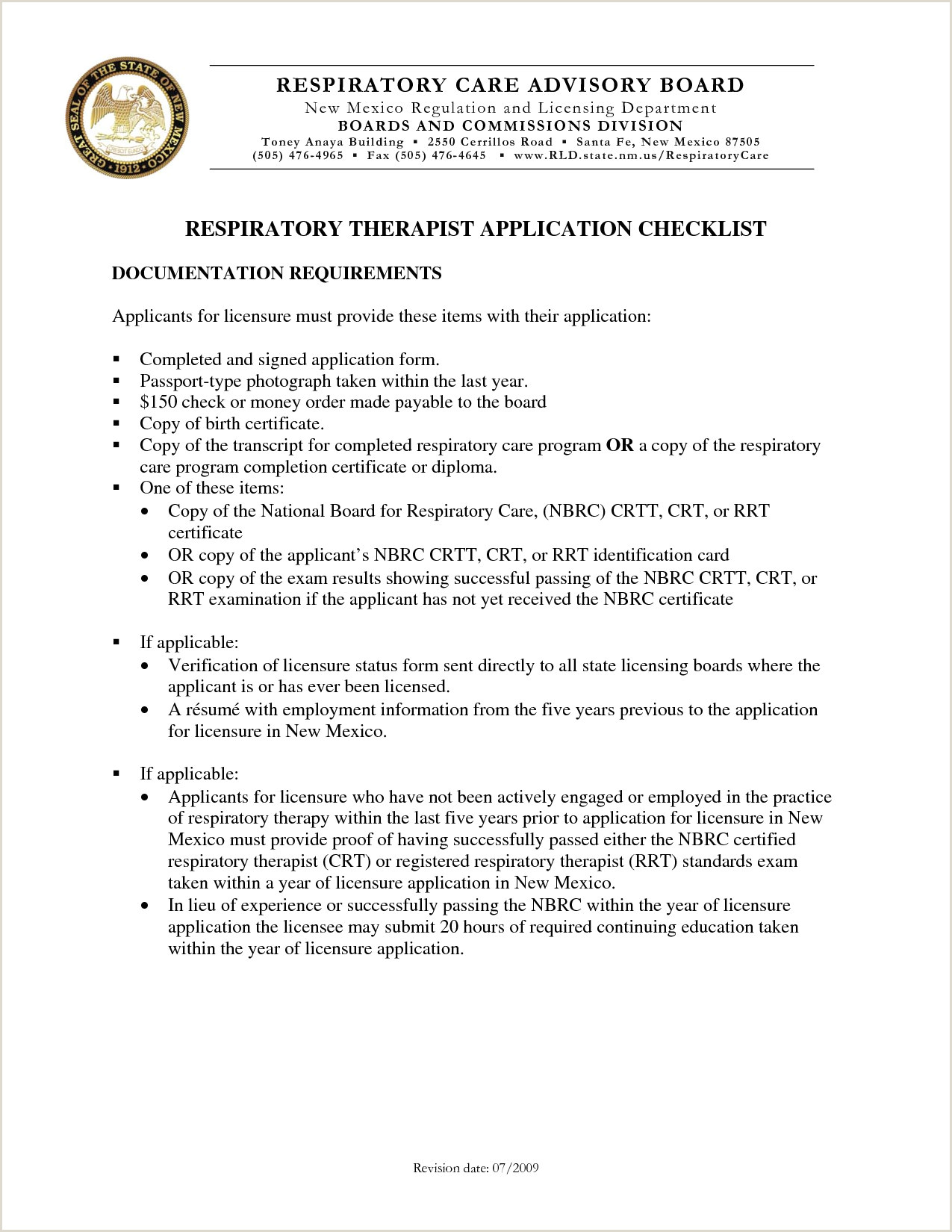 Sample Cover Letter Respiratory therapist Fresh Radiation