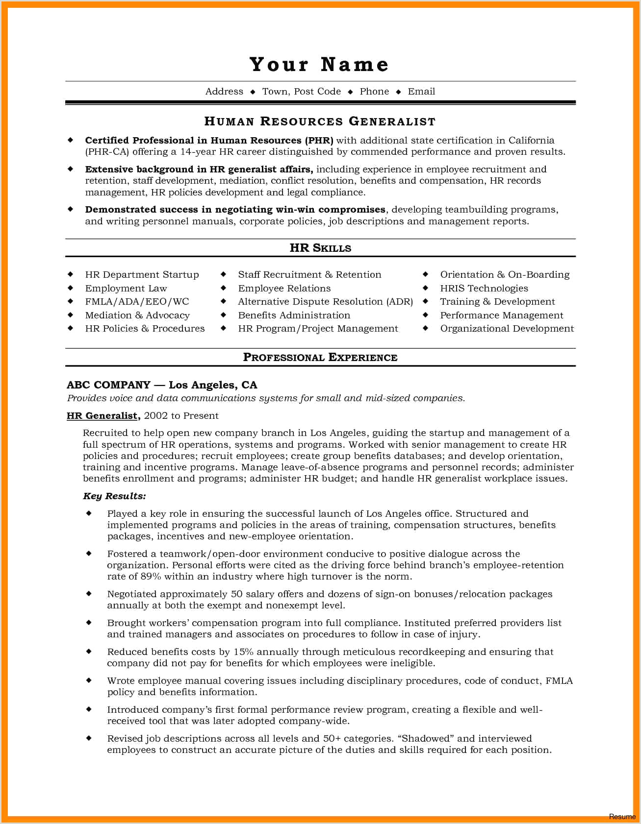 Recruiting Coordinator Resume Elegant Sample Project Manager Resume Objective