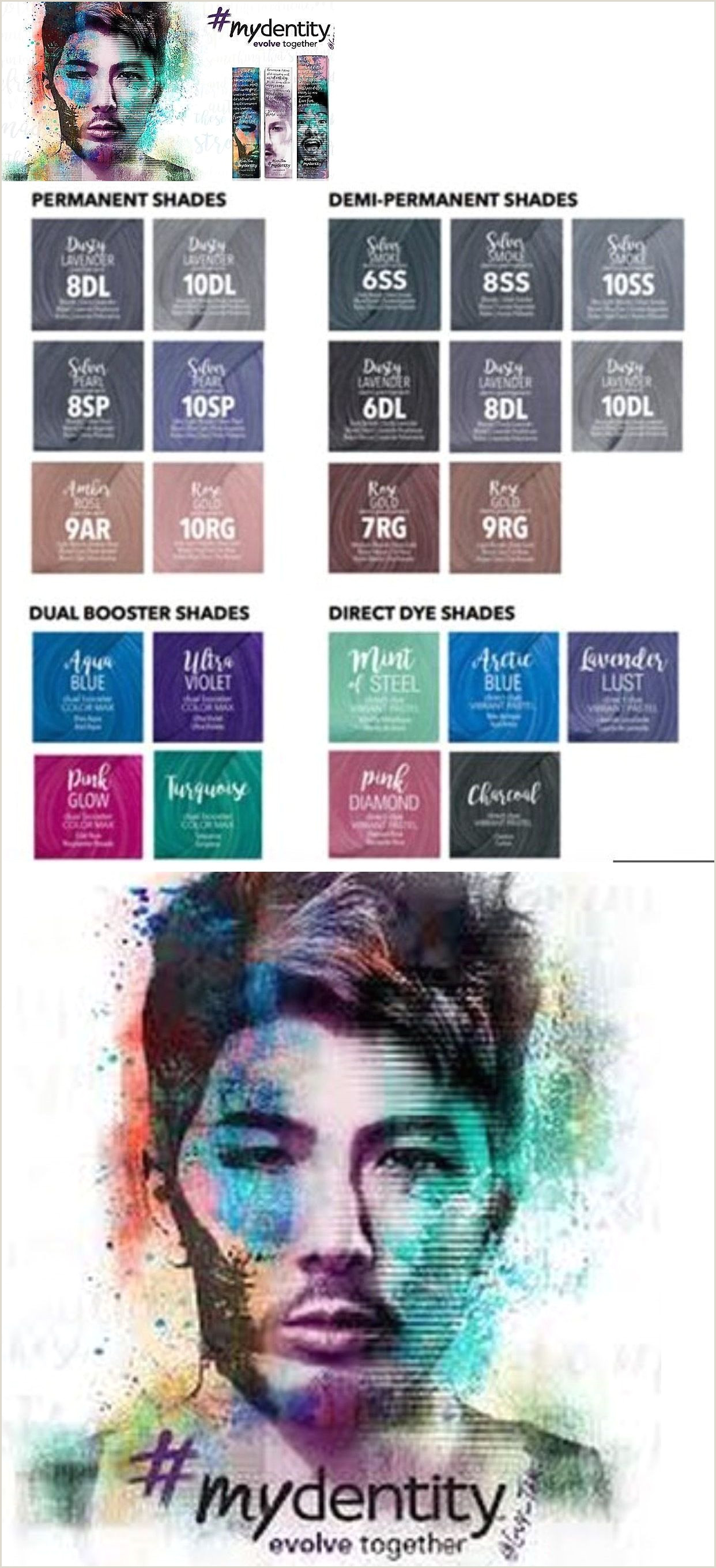 Redken Demi Permanent Hair Color Chart Illustration Hair Ideas