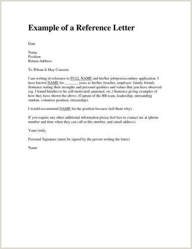 9 Personal Reference Letter Examples PDF