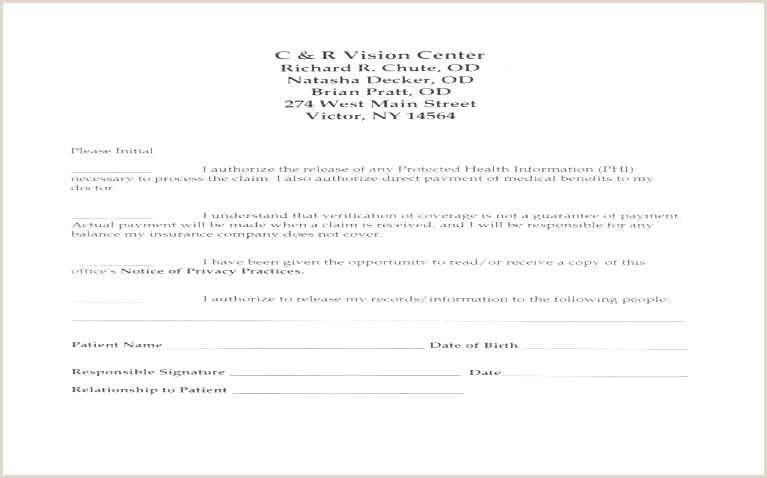 Release Of Records form Template Consent Release form Template Download Medical Records forms
