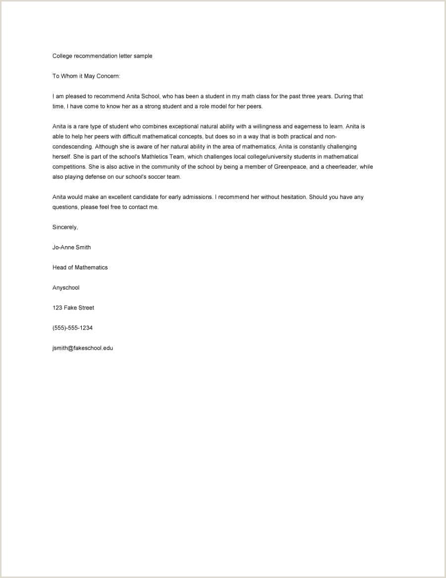 Religious Recommendation Letter Sample 10 Religious Re Mendation Letter Sample