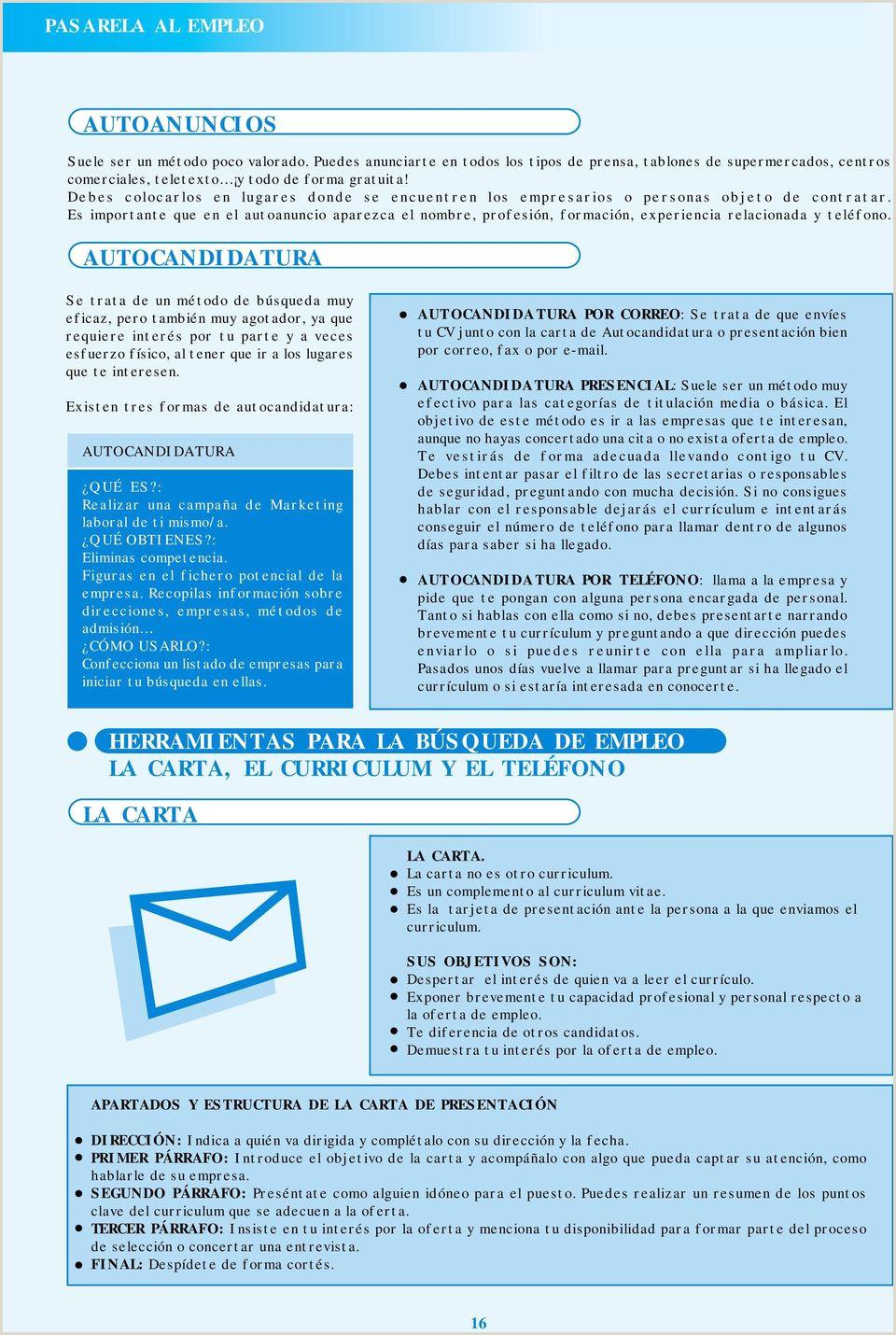 GUA PARA LA BšSQUEDA DE EMPLEO PDF