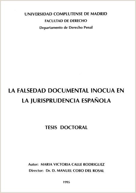 Rellenar Curriculum Vitae Para Mercadona La Falsedad Documental Inocua En La Jurisprudencia Espa±ola