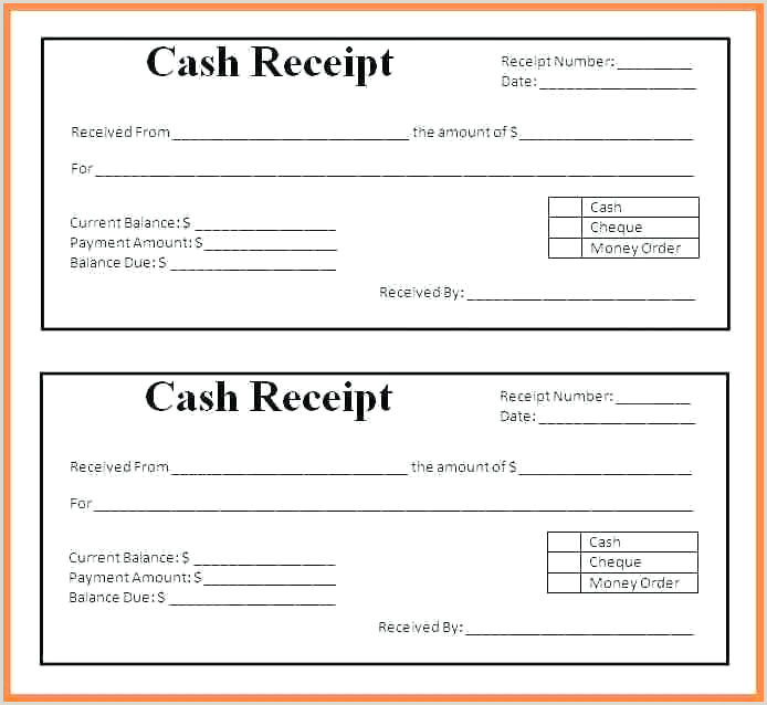 Acknowledgement Receipts Samples Receipt For Rental Payment