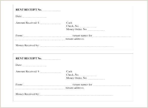 Received Receipt Awesome Rental Receipts Template Word
