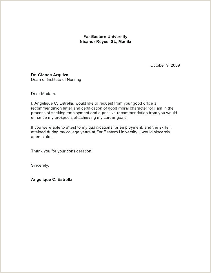 Request Letter for Good Moral Job Re Mendation Letter Sample Template – Digitalhustle