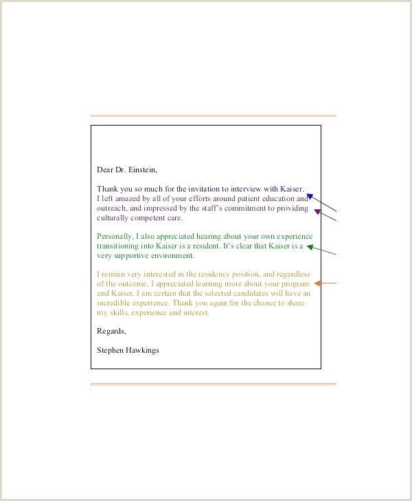 Personal Thank You Letter Example Format Resignation Reason