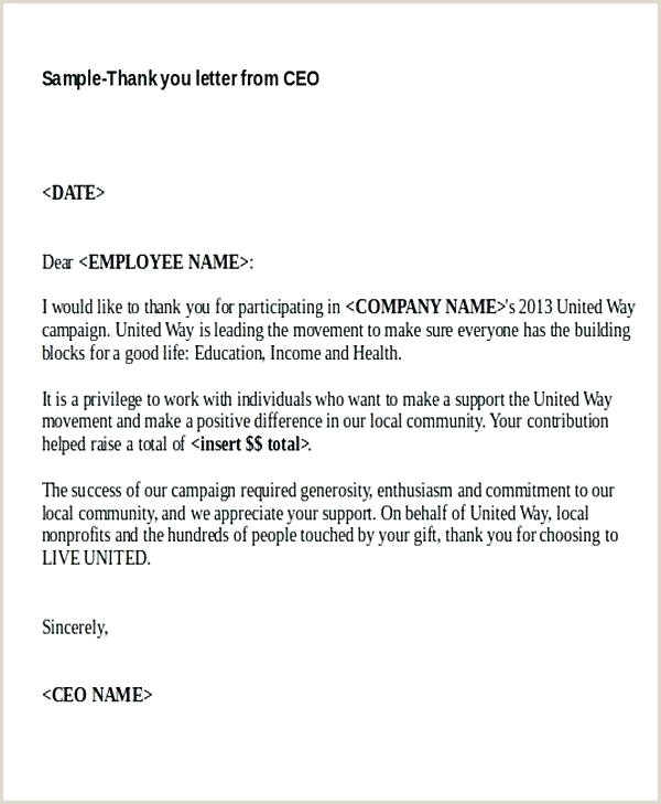 Thank You Letter For Sponsorship Promotional Campaign