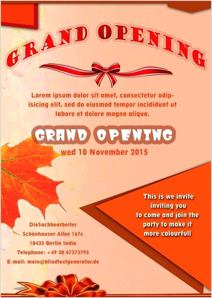 Best Word Flyer Templates Formats Grand Opening Grand
