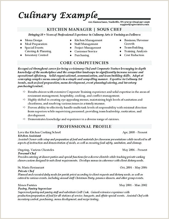 sample chef resume – agarvain