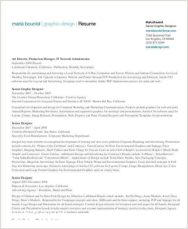 Free Restaurant Resume Templates Best Restaurant Resume
