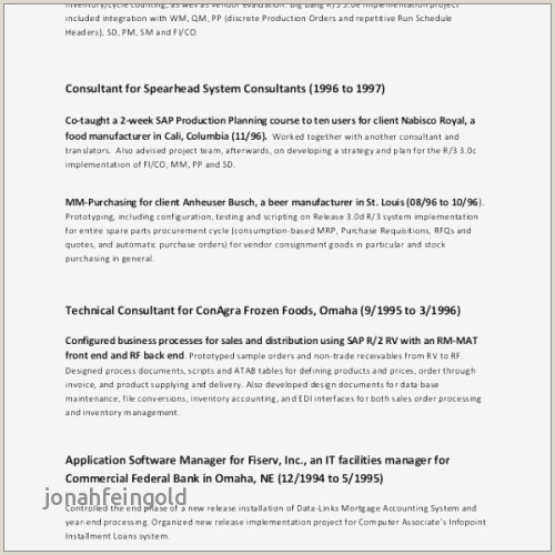 Restaurant Resume Templates Professional Fast Food Resume