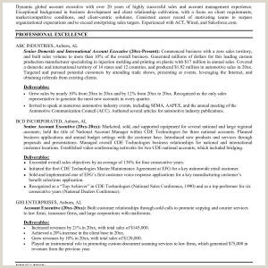 Resume Template Contract Administrator New Restaurant Resume