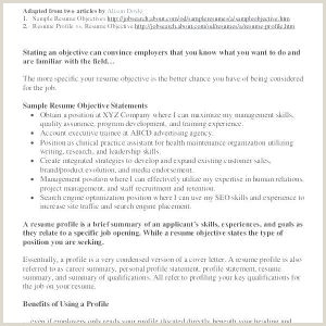 Photo of Resume Examples for Child Care