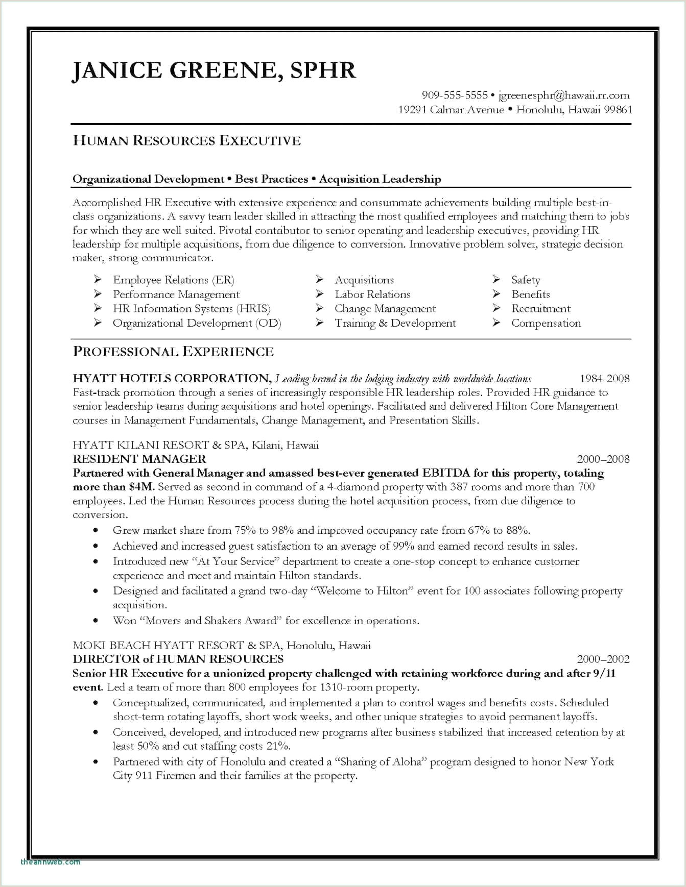 Resume Examples for Supervisor Position Apartment Maintenance Supervisor Resume