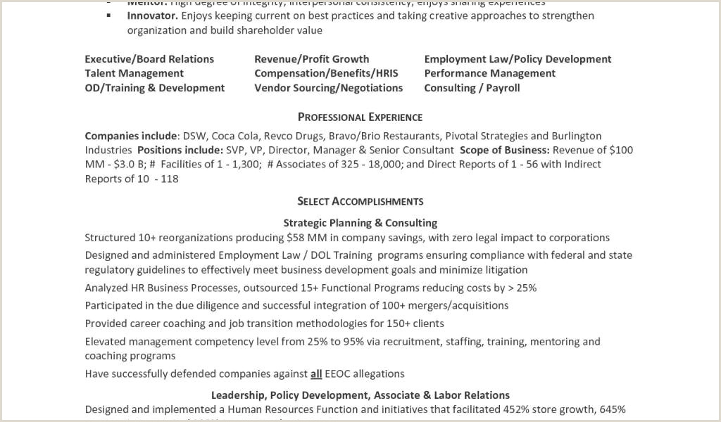 Resume Examples for Waitress Example A Resume Luxury Samples Resumes New Awesome